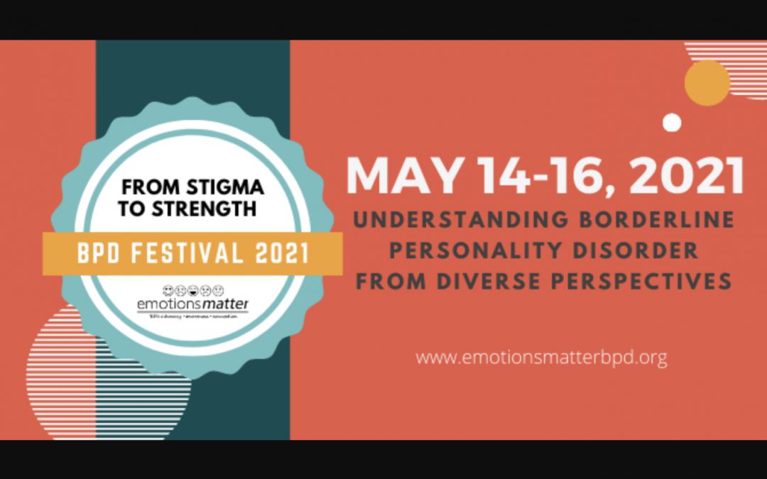 Emotions Matter BPD Fest 2021