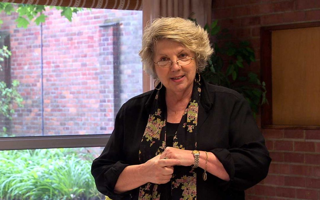 Marsha  Linehan talks about DBT