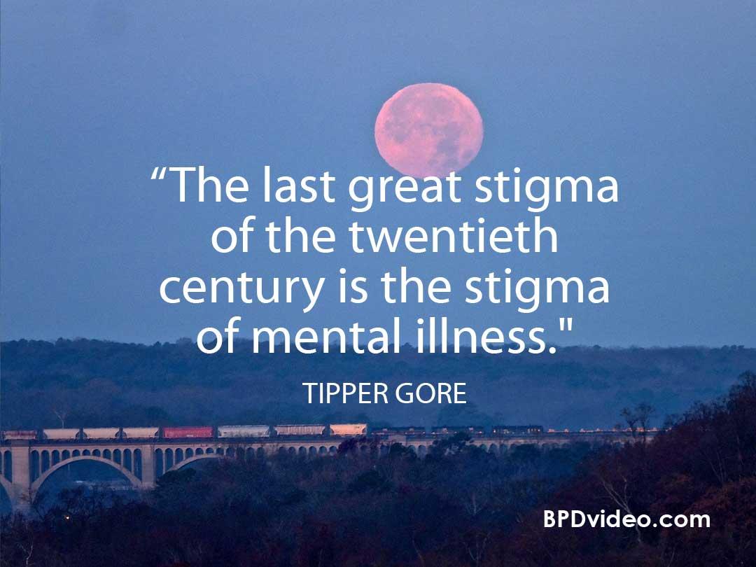 The stigma of Mental Illness -Tipper Gore